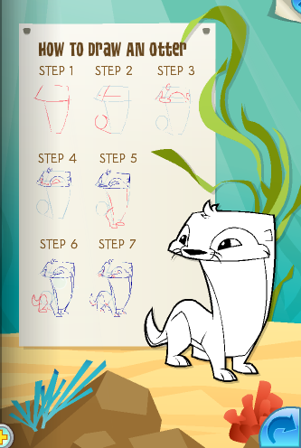 how to draw animals from animal jam