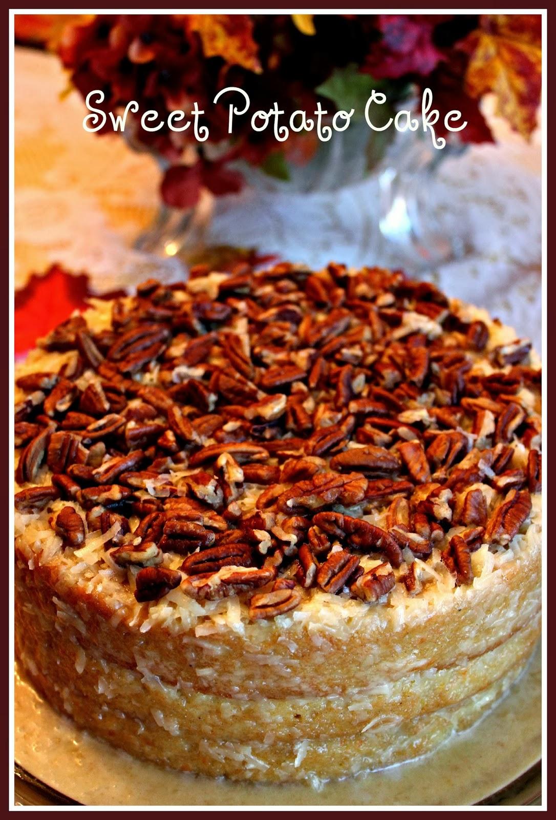 Sweet Tea And Cornbread Coconut Cake