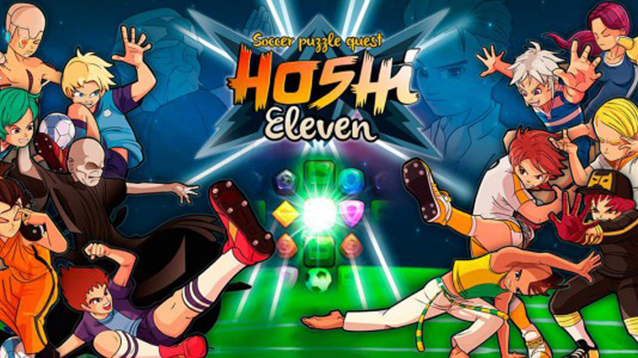 Hoshi Eleven - Puzzle Quest Gameplay IOS / Android