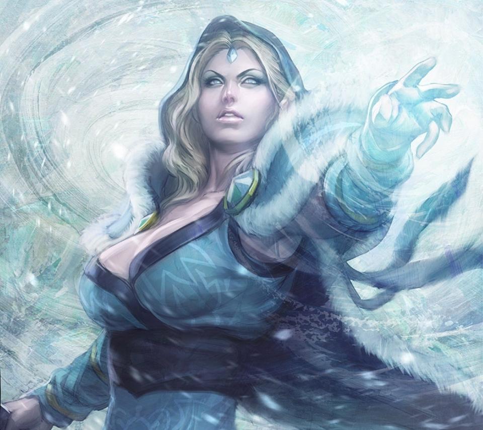 Dota 2 - Crystal Maiden Build GuideDota Wallpaper Crystal Maiden