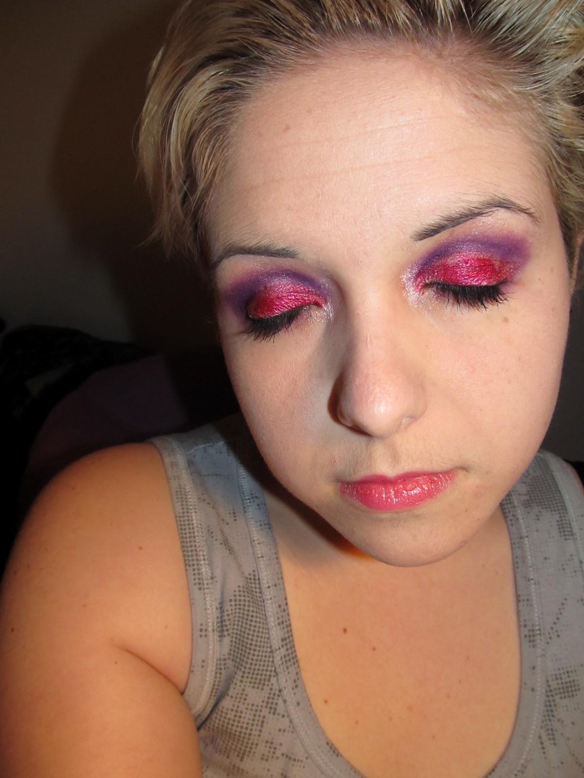 Maquillage inspiration St-Valentin... Sugarpill, Make Up For Ever et ...