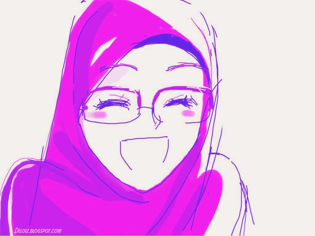 Wallpaper Muslimah Cute