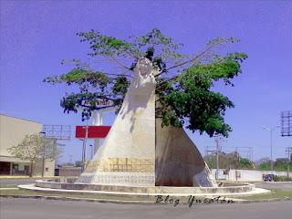 Monumento Xtabay Merida Yucatan