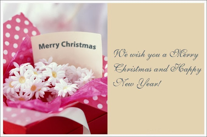 christmas new year card messages
