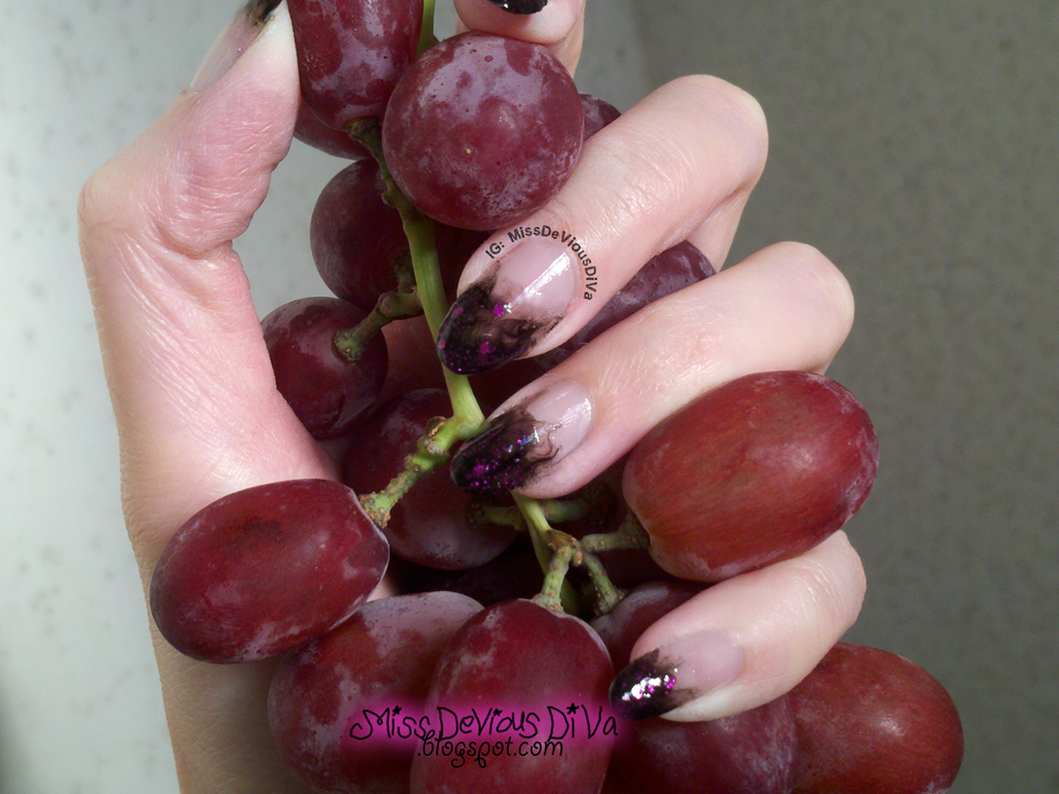 #31DC2014 - Day 6: Violet Nails