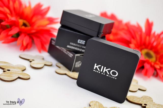 Kiko Summer Sale 2015 Beauty Haul Water Eyeshadow