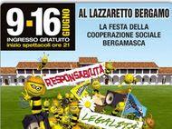 Fino al 16 giugno 2013 Happening delle cooperative bergamasche. Musica, teatro e dibattiti a Bergamo