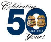 Federal Air Marshals Celebrating 50 Years Logo - 1962-2012