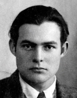 Hemingway's passport photo