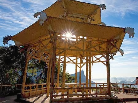 Turismo no Rio de Janeiro Vista Chinesa na Floresta da Tijuca