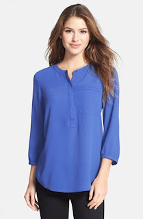 Henley Blouse from NYDJ