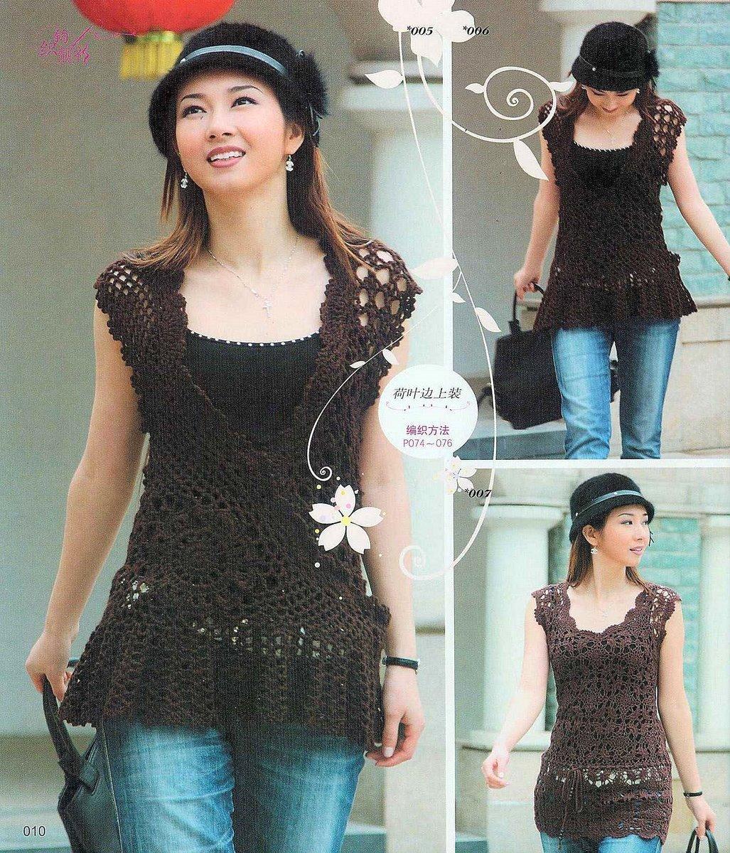 Revista Sweater japonesa~ | ~ Crochet Style ~