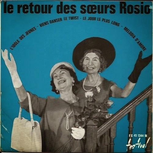 Le mur du son les soeurs rosio - Les soeurs du marquis ...