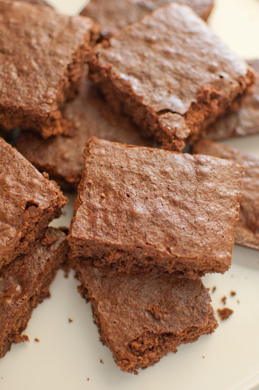 foto Chocolatey Flaxseed Brownies Recipe