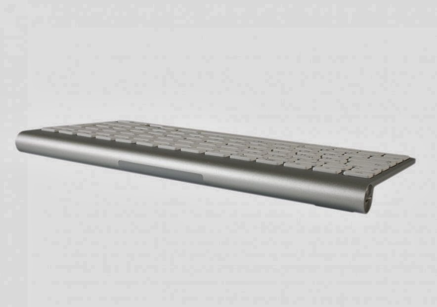 общий дизайн клавиатуры Apple iMac 27 ME089