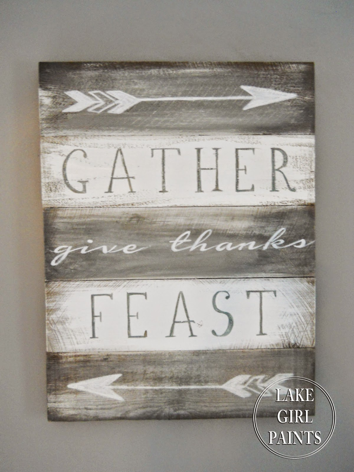 Paint A Sign For Your Dining Room