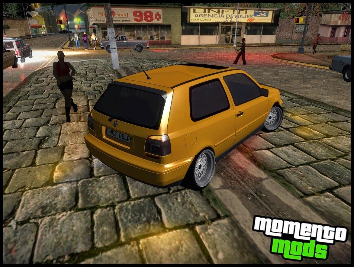 GTA SA - Vw Golf MK3 + BBS RS + ImVehFt