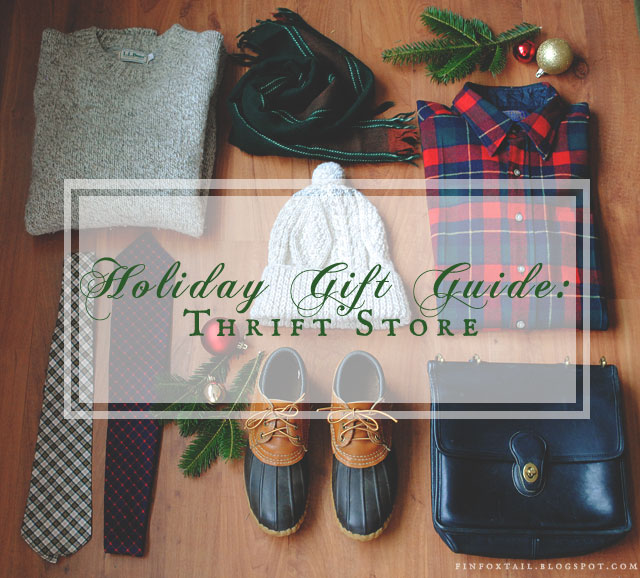 thrift store gift guide