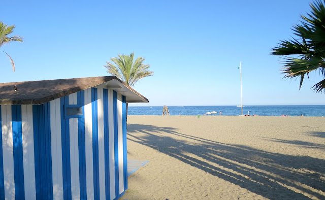 Marbella Spain Summer Holiday Beach Hut Sea View