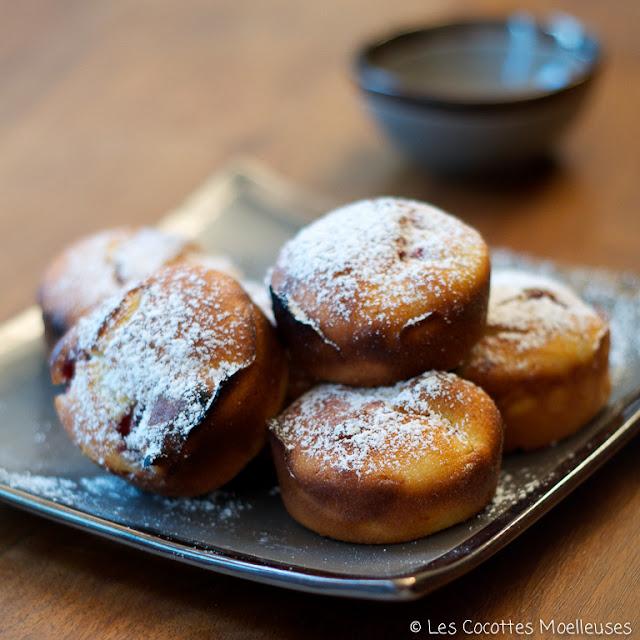 gâteaux framboises ricotta
