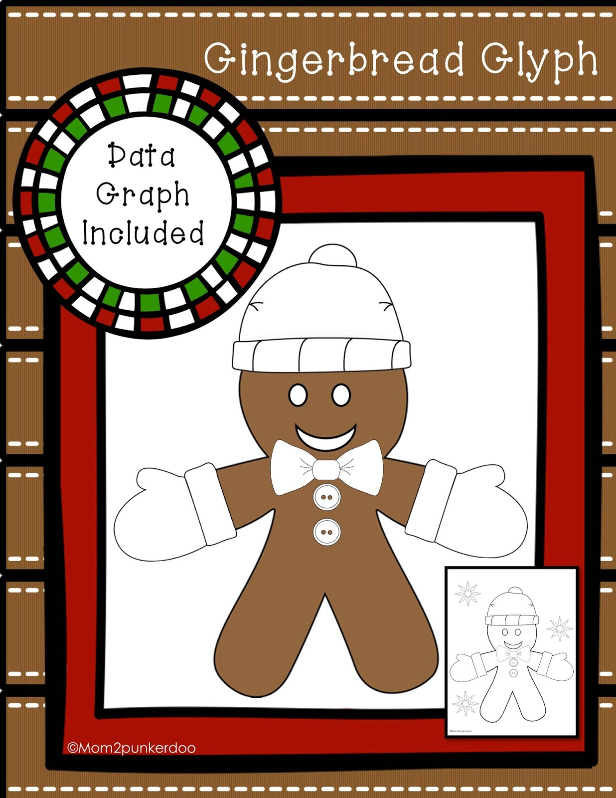 gingerbread data summary and glyph