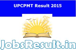 UPCPMT Result 2015