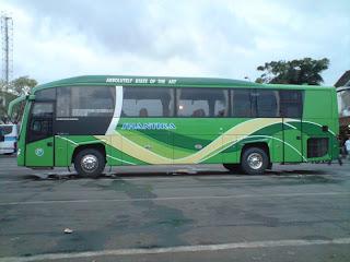 Gambar Bus PO Shantika