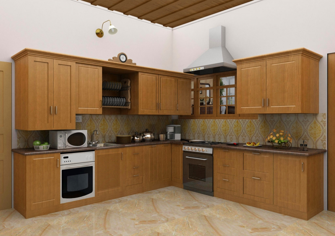 Imazination modular kitchen for Modular kitchen shelves designs