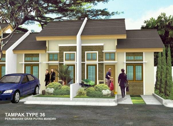 Model Rumah Sederhana 2014 Terbaru warna cream