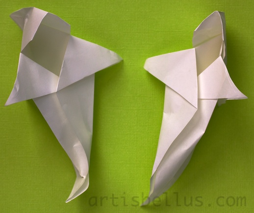 halloween decorations origami ghost new video