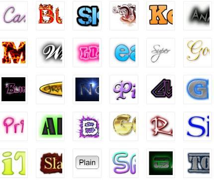 Modelos de logotipos