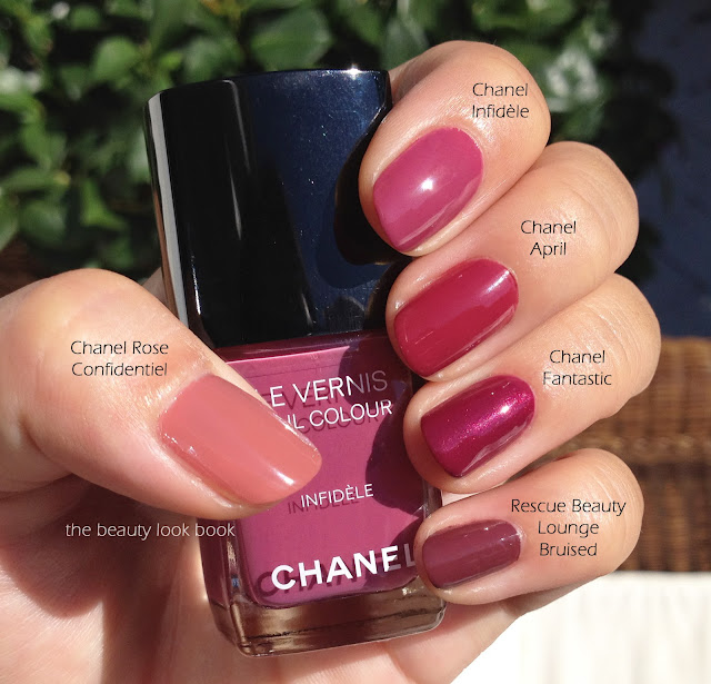 Nail Polish Swatch Book: The Beauty Look Book: Chanel Infidèle Le Vernis