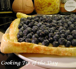 Mascarpone and Ricotta Blueberry Tart