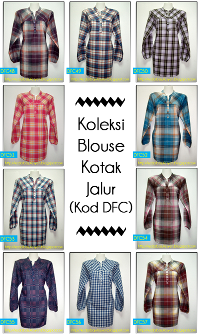 Koleksi Blouse Cotton DFC part 2