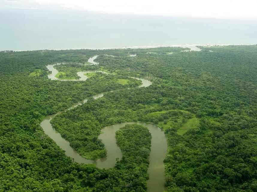 La Mosquitia, Belleza Natural Rio Platano