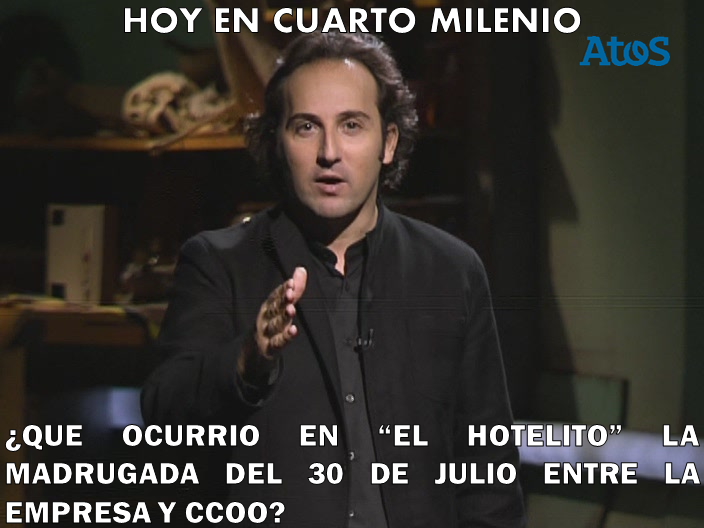 Gatos sindicales ere cuarto milenio for Horario de cuarto milenio