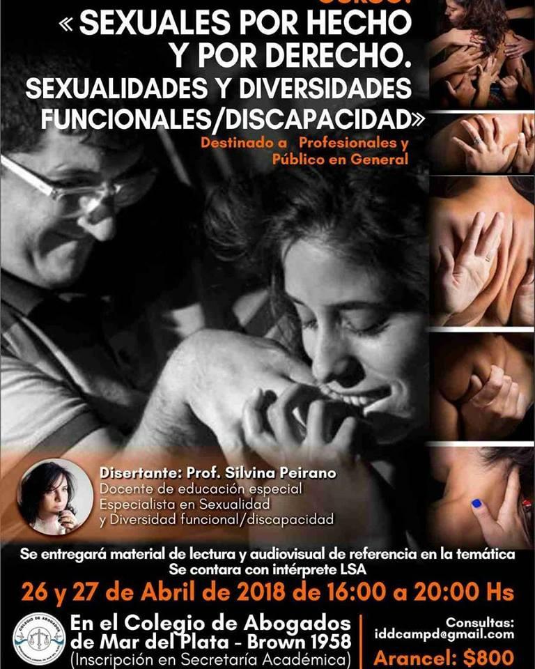 Curso: Sexuales por Hecho y por Derecho