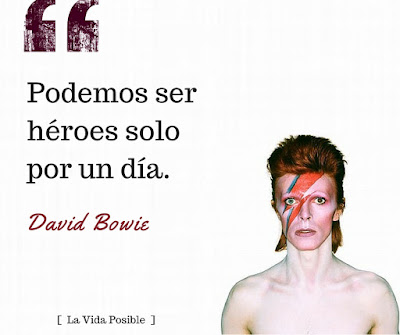 Frases David Bowie
