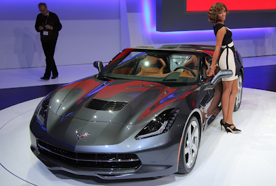 CARRO DEPORTIVO CHEVROLET CORVETTE STINGRAY GINEBRA 2013