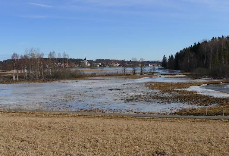 Vy mot Lindesberg, mars 2012