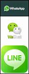 Whatsapp/LINE/WeChat