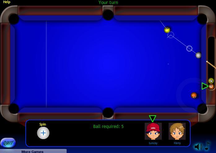 3d amerikan bilardosu oyna free american billiards game