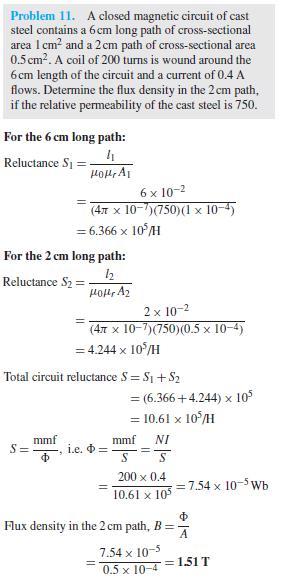 composite series magnetic circuit