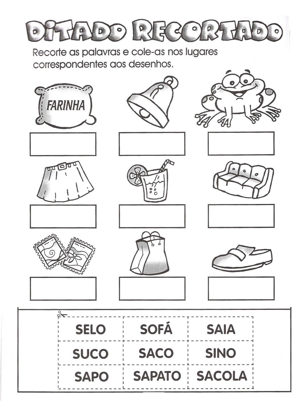 Preferência Mais Atividades de Linguagem Escrita   Cantinho do Educador Infantil XN59
