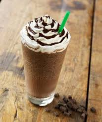My favorite coffee ever!  A mocha frappuccino!  Ya I know it isn't that great for me but....:)