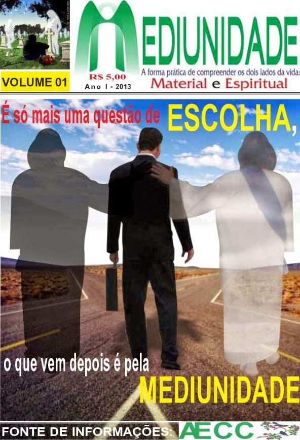 REVISTA MEDIUNIDADE VOLUME 01