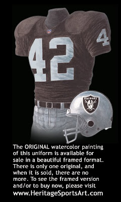 Oakland Raiders 2000 uniform