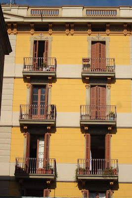 Typical building in El Raval