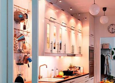 Интерьер кухни IKEA.