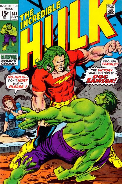 Incredible Hulk #141, Doc Samson